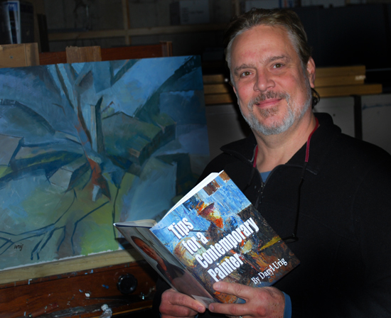 Tips for a Contemporary Painter, Hardback Book